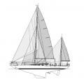 Plan de voilure - Eloise II